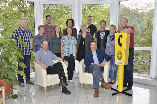 Das Redaktionsteam des Feuerwehr- und Rettungs-Magazins. Foto: Olaf Preuschoff