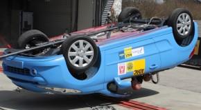 Peugeot 207CC der Beste im Trio, aber nicht gut. (ADAC)