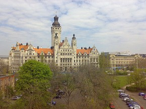 Leipzig Rathaus, Gunnar Richter Creative Commons Licence