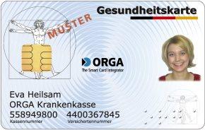 Gesundheitskarte Orga Kartensysteme
