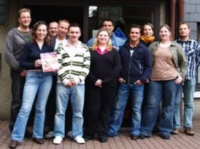 Erste Gems-Absolventen beim DRK-Wuppertal