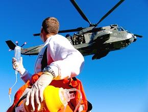 Marine rettet Segler vor Rügen