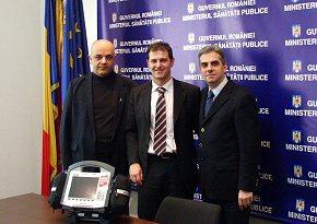EKG-Liveübertragung für Rumänien
