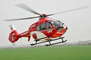 Unproblematische Landungen auf freiem Feld sind für Rettungshubschrauber eher die Ausnahme. (Foto: Team DRF)