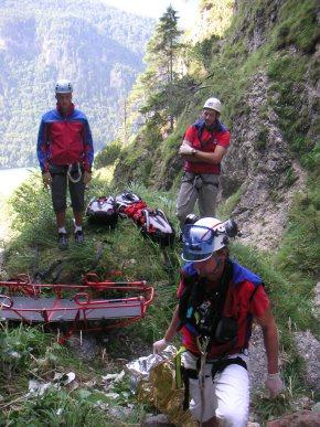 Solche Einsätze müssen selbst erfahrene Bergretter erst einmal verarbeiten. (Foto: BRK BGL)