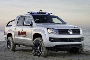 Pick-Up-Studie: Traumwagen für Rettungsschwimmer.