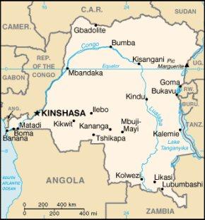 Im Osten der Dem. Rep. Kongo, an der Grenze zu Ruanda, drohen blutige Kämpfe.