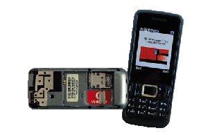 Netzing Doppel-SIM-, Doppel-GSM-Handy