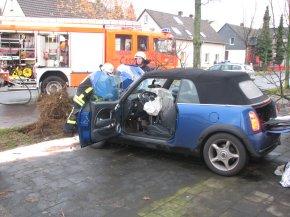 Ohne Gurt, konnten die Airbags alleine die schweren Verletzungen nicht abwenden.