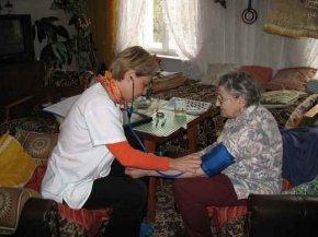Teleschwester Cornelia Menzel beim 1.000 Teleschwestern Hausbesuch