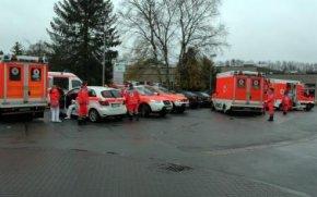 38 Mitarbeiter der Härterei brachte der Rettungsdienst sicherheitshalber in umliegende Krankenhäuser.