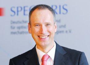 Ullrich Kraus vom Spectaris Fachverband Medizintechnik: Investitionsstau jetzt auflösen.
