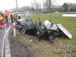 Trotz intensiver Rettungsbemühungen verstarb die 81-jährige Vento-Fahrerin