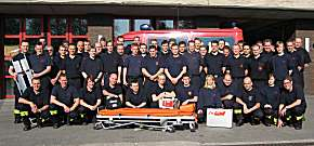Hoch motiviert: Rund 50 FF First-Responder nahmen am Samstag an der Fortbildung teil. (Foto: Feuerwehr Dortmund)