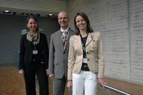 Die Organisatoren (v.l.) Prof. Dr. Bettina Hohn, Kai Fischer (Spendwerk) und Prof. Dr. Stefanie Hohn freuten sich über eine gelungene Tagung.