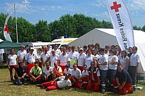 48 Einsatzkräfte des Roten Kreuz sorgten am Rennwochenende für die Sicherheit der Zuschauer und Rennfahrer