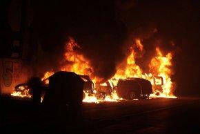 In einem Umkreis von 250 Metern um den Unglücksort standen Auto ins Flammen.