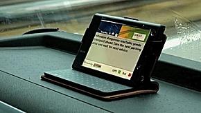 Smartphone als Lotse beim Gefahrguttransport (Foto: LKZ Prien)