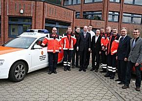 Erfolgsgeschichte: 20 Jahre Rettungsdienst des Kreises Warendorf. (Foto: Kreis Warendorf)