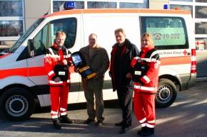 AEDs im Krankenwagen (Foto: BRK Erding)