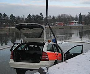 Fahrzeug geborgen (Foto: Stadt Erlangen)