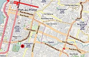 Open Street Map Port-au-Prince