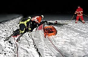 Rettungsübung bei Wietzendorf (Foto: FF Wietzendorf)