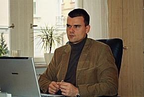 Michael Steil im Gespräch (Foto: Martin Jost)