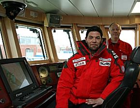 Tim Mälzer ist Bootschafter für die DGzRS. (Foto: DGzRS)