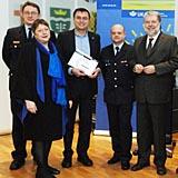 Präventionsarbeit der Feuerwehr Speyer ausgezeichnet (Foto: Stadt Speyer)