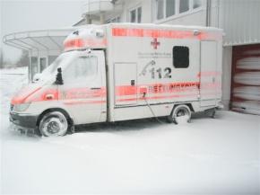 Fast wie in Sibirien... (Foto: Dr. Lührs)
