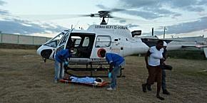 Der Haiti-Heli übernimmt auch Verlegungsflüge (Foto: Heli-Aviation)