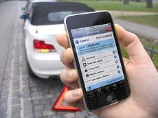 Iphone App der Zurich Gruppe (Foto: Zurich)