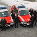 Vorstellung der Fahrzeuge durch die Hilfsorganisationen. Foto: Kreis Marburg-Biedenkopf