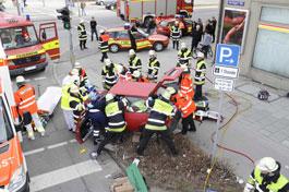 Unfall Anzingerstraße (Foto: BR München)