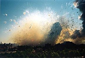 Explosion in Enschede am 13. Mai 2000. (Foto: Gemeende Enschede)