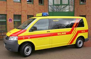 ELW auf VW T5 der DLRG-Ortsgruppe Wathlingen-Nienhagen. Foto: Makel/DLRG Wathlingen-Nienhagen