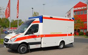 Kann bei Gerken gemietet werden: ITW auf Mercedes Sprinter 516 CDI mit WAS-Aufbau. Foto: Gerken