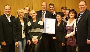 Team der Notaufnahme des St. Bernward Krankenhaus in Hildesheim (Foto: DQS)