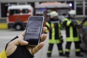 Rettungsdaten für das Smartphone (Foto: Opel)