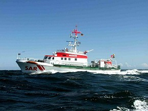 Seenotkreuzer Arkona (Foto: DGzRS)