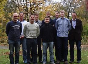 Teilnehmer der Multiplikatorenschulung Fehler- und Kommunikationsmanagement im Rettungsdienst der Berufsfeuerwehr München. (Foto: FEMKO)