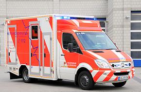 Von GSF aufgebaut: RTW der BerufsfeuerwehrF Oldenburg