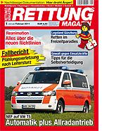 Titelseite des neuen Rettungs-Magazins.