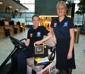 Kopenhagen: Der AED ist immer an Bord (Foto: Ziegler)