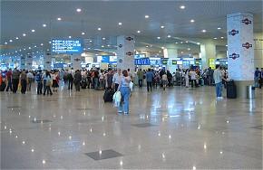 Das internationale Terminal am Domodedowo-Flughafen Moskau vor dem Anschlag. (Foto: A. Sain , GNU)