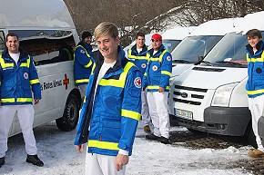 Der 19-jährige Hansi Nitzinger aus Anger ist der letzte Zivildienstleistende des Roten Kreuzes im Berchtesgadener Land (Foto: BRK)