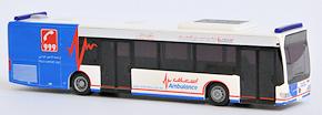 Neu von Rietze: Modell eines GRTW auf Mercedes Citaro der Regierung von Dubai. Foto: Michael Rüffer