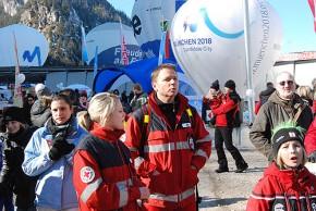 Immer für Notfälle bereit: Die freiwilligen Helfer der BRK-Bereitschaften (Foto: Friedhelm Brandes)