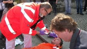 Praktische Übung im C-Risk-Workshop (Foto: GSG Hessen)